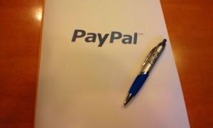 4月18日のPayPalセミナーで配られた資料